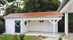 garage nachträglich überdachen – Google-Suche Garage, Outdoor Structures, Google, Searching, Carport Garage, Garages, Car Garage, Carriage House