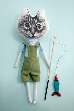 by FedorToy, via Flickr - kinda scary with with big head - will scare away the fish?