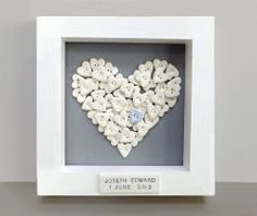 Personalised baby christening gift naming by GilbertandStone, £40.00