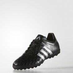 huge selection of 53ea2 4c2d6 adidas ACE15.4 Turf Shoes - Black  adidas UK Black Adidas Shoes, Black