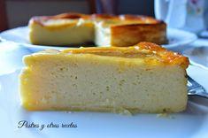Postres y otras recetas: Tarta de peras