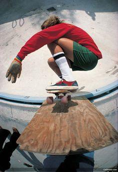 Skateboarding - Tony Alva, 1977 (Photo by Warren Bolster)