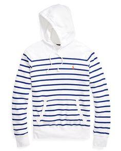 Striped French Terry Hoodie - Polo Ralph Lauren Sweatshirts - RalphLauren.com