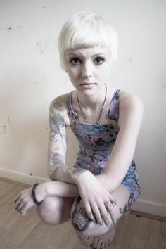 one of my favorite tattoo artists- Grace Neutral