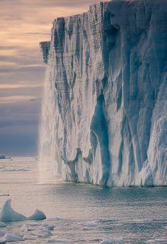 Austfonna glacier by Ivan Starastin on 500px