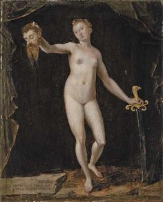 Jean Ramey: Judith with the Head of Holofernes, 1585.
