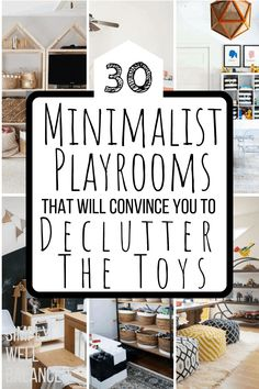 ikea furniture I am obsessed with these minimalist playroom ideas. Get inspired to be organized and create a modern playroom. Awesome playrooms with IKEA furniture, farmhouse decor and montessori toys.