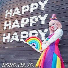 """クラウンカノン canon on Instagram: """"Happy Birthday to me!! お誕生日です!! プレゼントもお祝いも前後1年受け付けてるのでおかまいなく😘 #クラウンカノン #クラウン #カノン #道化師 #ピエロ #clowncanon #clown #canon #オーバートーン #overtone…"""" Female Clown, Send In The Clowns, Fun Stuff, Canon, Disney Characters, Fictional Characters, Snow White, Aurora Sleeping Beauty, Fair Grounds"""