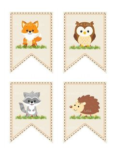 Woodland Baby Shower Banner, Woodland Animal Banner, Woodland Banner, Printable Woodland Baby Banner, Forest Banner - Printables 4 Less 0087 - Woodland Baby Shower Banner Woodland Animal Banner Woodland Woodland Theme, Woodland Baby, Woodland Animals, Forest Animals, Idee Baby Shower, Baby Shower Gifts, Baby Gifts, Baby Banners, Shower Banners