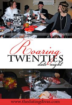Roaring 20's Theme Date Night from The Dating Divas