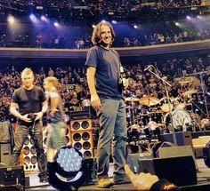 Stone Gossard ..smile..| Pearl Jam | Fall Tour 2013