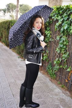 Marta Barcelona Style | Blog de Moda y tendencias para tus looks diarios: ¡Conjunto para días de lluvia! / A rainy outfit!