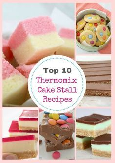 We all remember the good old fetes and cake stalls from our own childhood. but now we've updated the BEST recipes - and made them Thermomix-friendly. 10 Thermomix Cake Stall Classics (that Lunch Box Recipes, Snack Recipes, Dessert Recipes, Snacks, Yummy Treats, Sweet Treats, Yummy Food, Thermomix Desserts, Thermomix Recipes Healthy