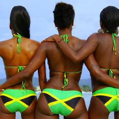 Jamaica - you can wear your bikini's there and totally get away with it... DO IT xx
