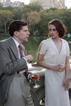 Woody Allen, Café Society, Twilight Pictures, Holy Chic, Movie Costumes, Kristen Stewart, Great Movies, Film Movie, Pretty Hairstyles