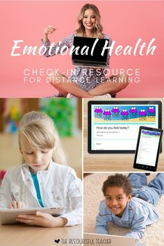 Of all the times to be checking in on our students' emotional health, NOW is the perfect time. Use this Emotional Health Check-In Google Form to quickly check in on your students' emotional status.  You can use this Emotional Health Distance Learning Resource daily, weekly, or whenever you see fit! I used mine during a Zoom meeting so I could see my students' responses in real time so we could discuss them together.  Perfect for 2nd-6th Grade! #distancelearning #socialemotionalresources