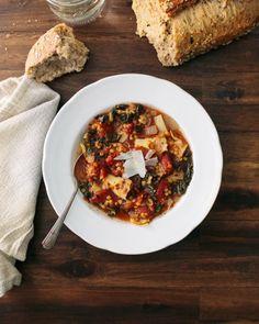 Tomato Artichoke Lentil Stew