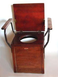 Vintage Commode With Armrest. Art Nouveau/ebay