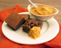 open house, gourmet brownies, pumpkin dip, chocolate chip brownies; This recipe tastes so good, you can eat it without dipping.
