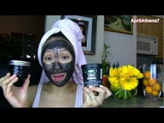 DIY LUSH DARK ANGELS CHARCOAL FACE MASK ✿ (Great for Acne Scars, Oily, Acne Prone Skin)