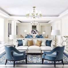 Aug Everyone loves that relaxed time in their comfortable living room. These are our best inspirations for amazing Living Rooms! See more ideas about Living room decor, Living room designs and Modern lounge. Classic Interior, Home Interior, Living Room Interior, Home Living Room, Living Room Designs, Interior Design, Luxury Interior, Modern Interior, Classic Living Room
