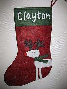 the boy's Stocking