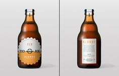 Blondy Rustic Beer packaging by Diferente » Retail Design Blog