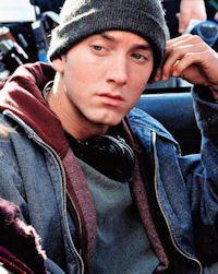 FAMOUS RAPPER EMINEME, GREW UP IN DETRIOT ~ THE MOVIE 8 MILE WAS FILMED IN AND AROUND DETROIT WHERE HE LIVED.....:)