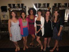The girls of Team Starkid