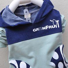 Retail cotton baby set Toddlers children baby boys girls autumn spring 2 pcs clothing set suit cartoon hoodies + pants sets B320