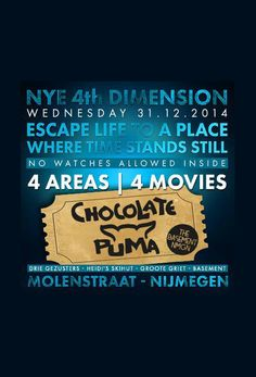 31 DEC 2014   NYE 4th Dimension #nijmegen De Drie Gezusters   Heidi's Hut   Groote Griet   Basement