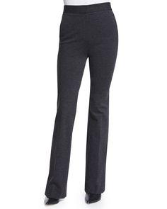 Garetto Fixture Ponte Pants, Charcoal (Grey), Women's, Size: 4 - Theory