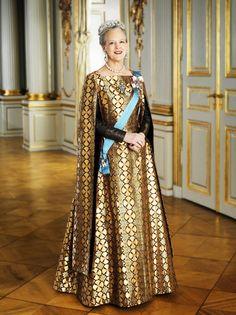 H.M. Dronning Margrethe 2. af Danmark (1972 - ).