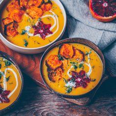 Sweet potato fennel soup with orange – Freistyle