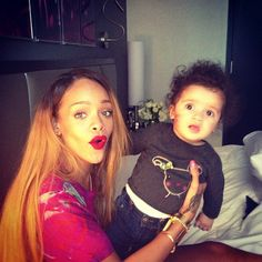 Babies love Rih