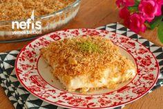Muhallebili Kadayıf (videolu) Tarifi Dessert Recipes, Desserts, Iftar, Macaroni And Cheese, French Toast, Food And Drink, Yummy Food, Breakfast, Ethnic Recipes
