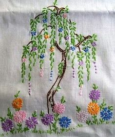 Latest Trend In Embroidery on Paper Ideas. Phenomenal Embroidery on Paper Ideas. Paper Embroidery, Hand Embroidery Stitches, Silk Ribbon Embroidery, Modern Embroidery, Hand Embroidery Designs, Vintage Embroidery, Embroidery Techniques, Cross Stitch Embroidery, Embroidery Patterns