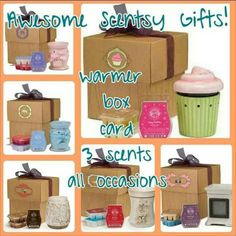 ★★★ Awesome Scentsy Gift Pack! ★★★ Https://kmarch.scentsy.us
