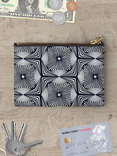"""""""The Luck"""" Zipper Pouch by Asmo Turunen. #design #zipperpouch #canvaspouch #kangaspussi #meikkipussi #atcreativevisuals"""