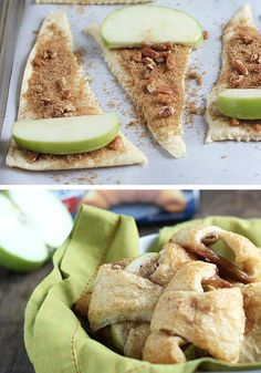 These personal, bite-sized apple pies are a delicious, quick, and easy dessert recipe that can be ready in less than 30 minutes!