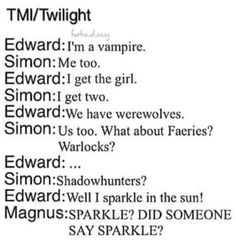Not that I have something against any fandom.. BUT MAGNUS!!!