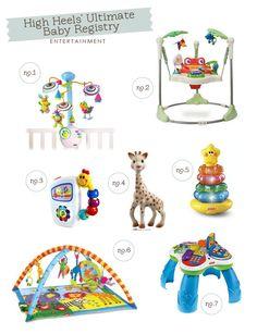 Mrs. High Heels' Ultimate Baby Registry: Entertainment   Hellobee