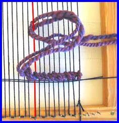 Soumak Finger Weaving - This is a great craft that will keep fingers bending without being too fine or detailed for the arthritic fingers.