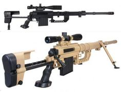 Cheytac Intervention. Currently the world's most accurate weapon system.