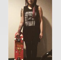 Skateboard and tattoos :)