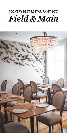 Dining room at Field & Main in Washington, DC   Washingtonian