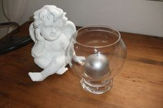 Windlicht, Laterne, Kerze im Glas, Kerzenglas von Atelier Regina auf DaWanda.com
