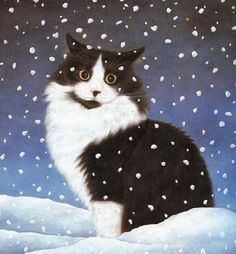 Another lovely Anne Mortimer cat picture