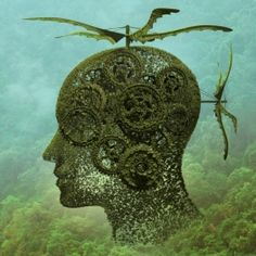 Surreal Human Heads That Illustrate The Chaos of Mind – Fubiz Media Polish graphic designer Igor Morski creates digital illustrations representing abstract human heads made with natural elements like plants, trees or butterflies Arte Zebra, Zebra Kunst, Zebra Art, Drawing The Human Head, Surreal Artwork, Graphic Art, Graphic Design, Communication Art, Illustrations
