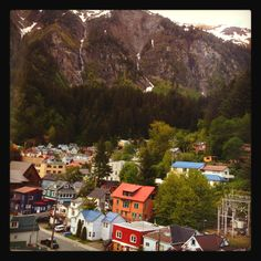 Juneau, Alaska. One of the most peaceful places I've ever been to.